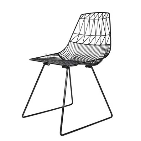 BEND/LUCY WIRE CHAIR