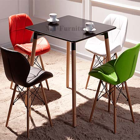 Set ban copine-3DT-12 + 4 ghế MT09 Eames